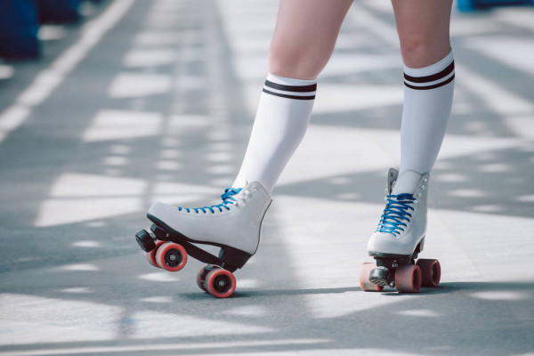 no-synthetic-material-roller-skate